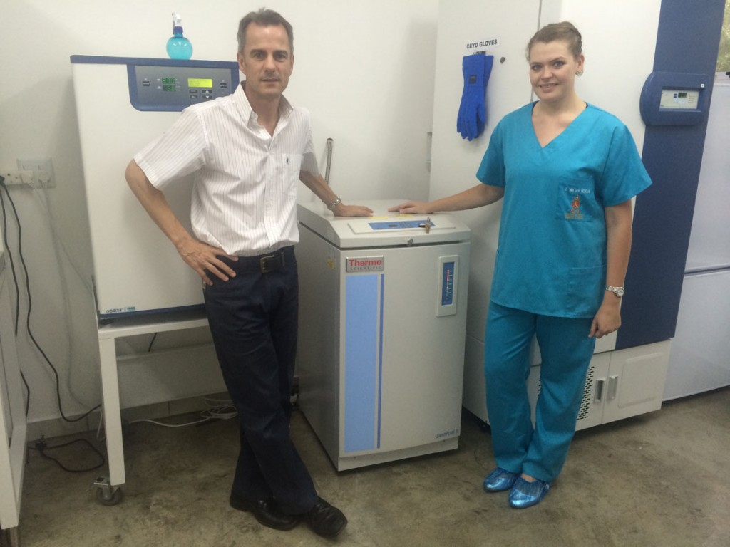 Cell Freezing At New SA Stem Cell Institute In Parys