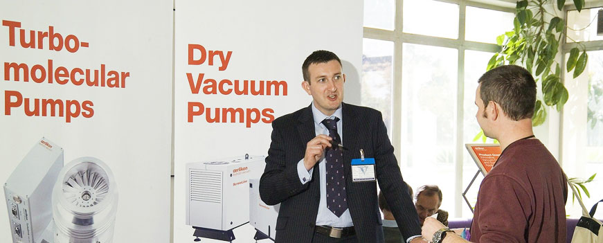 Vacuum Solutions from Research to Mass Production