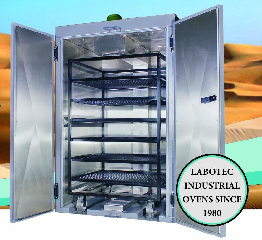 Labotec industrial oven 2000 litre