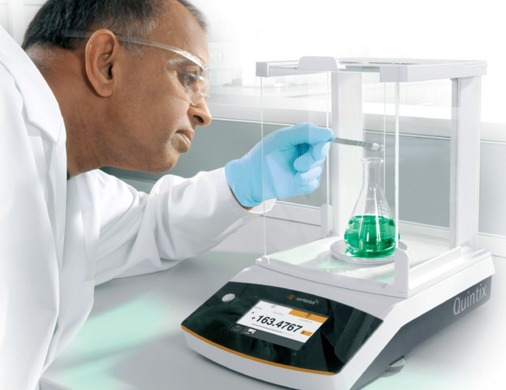 Sartorius Redefines the Traditional Lab Balance with Quintix