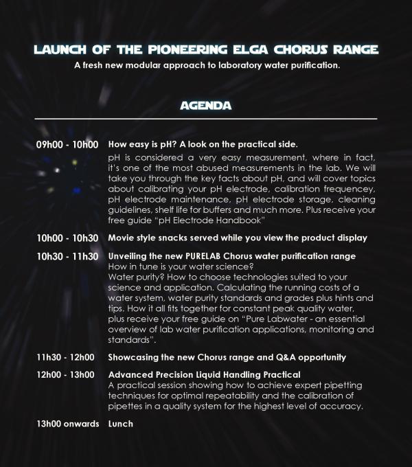 ELGA Chorus Range - Launch