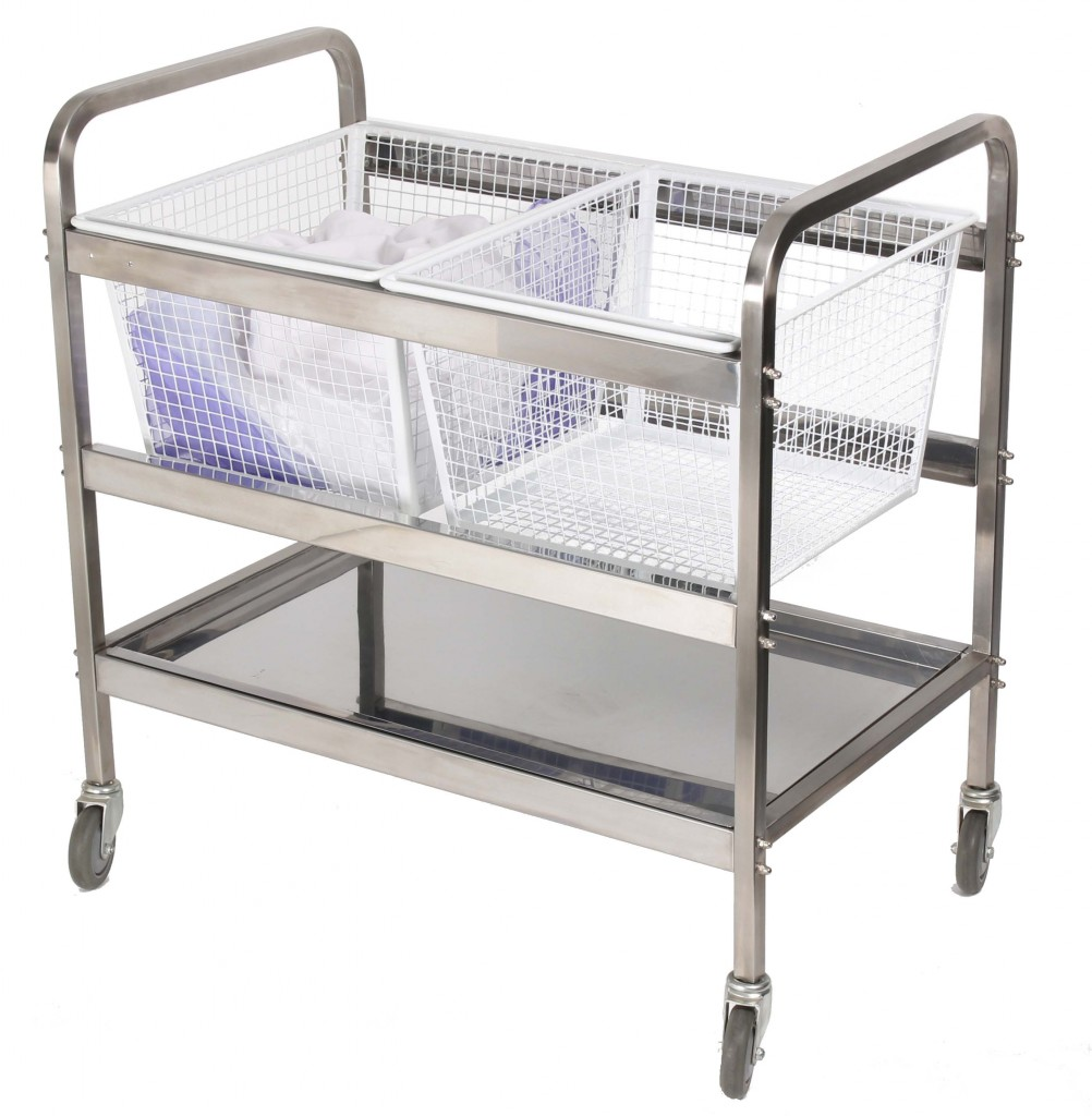 All About Hygiene - New Fully Stainless Steel Trolleys