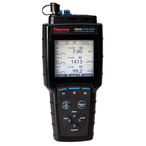 Thermo Scientific Orion Star A329 pH, ISE, Conductivity, DO and RDO Portable Meter