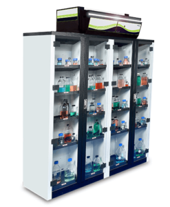 Captair Smart – Storage Cabinets - option 3