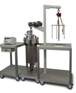 50 & 100 L Floor Stand Stirred Reactors Series 8500