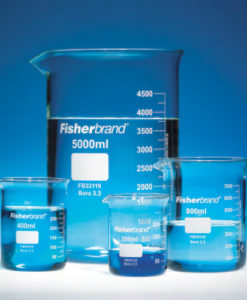 Glassware Consumables Beakers