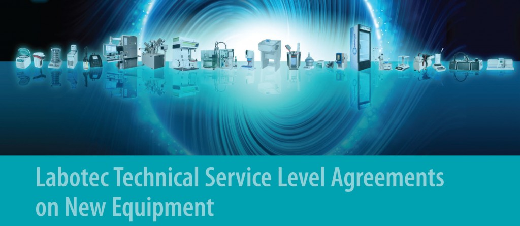 NEW - Labotec is Offering Service Level Agreements on New Equipment